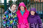 Siobhan and Mary Murphy with Mary O'Donoghue, taking part in the Tony O'Donoghue Memorial walk in Blennerville on Saturday last.