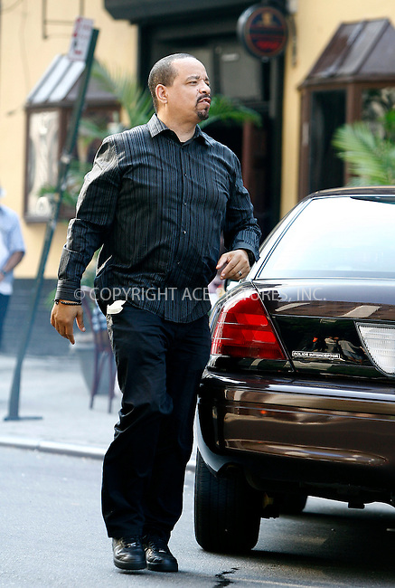"WWW.ACEPIXS.COM . . . . .  ....September 13 2011, New York City....Actor Ice-T on the Manhattan set of the TV series 'Law and Order SVU"" on September 13 2011 in New York City....Please byline: CURTIS MEANS - ACE PICTURES.... *** ***..Ace Pictures, Inc:  ..Philip Vaughan (212) 243-8787 or (646) 679 0430..e-mail: info@acepixs.com..web: http://www.acepixs.com"
