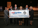 RWJBarnabas Health sponsorship and naming rights ceremony at Toms River North High School.