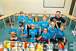 Front l-r, Rohan Moore, Will McGrath, Kasper Alveski, Lola and Finn O&rsquo;Neill and Dylan Sheridan.<br /> Standing l-r, Zack Moore, Rory O&rsquo;Neill, Kuba Alveski, Jacob Derylak and John Walsh at the MEGA DOJO Free Day of Coding in the I T Tralee on Saturday.