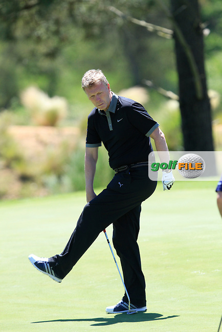David Moyes (Am) on the 17th during the Pro-Am in The Open De Espana at The PGA Catalunya Resort on Wednesday 14th May 2014.<br /> Picture:  Thos Caffrey / www.golffile.ie