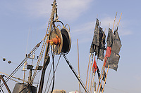 - Trapani, the fishing port....- Trapani, il porto peschereccio