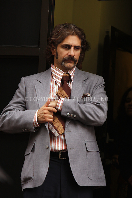 WWW.ACEPIXS.COM . . . . .  ....August 14 2008, New York City....Actor Michael Imperioli on the set of the new TV show 'Life on Mars' in which a present-day detective is mysteriously  taken back to the 1970s forllowing a car accident. The show is a remake of the enormously popular BBC series which is set in England.....Please byline: AJ Sokalner - ACEPIXS.COM..... *** ***..Ace Pictures, Inc:  ..te: (646) 769 0430..e-mail: info@acepixs.com..web: http://www.acepixs.com
