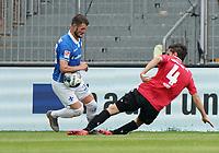 Marcel Heller (SV Darmstadt 98) gegen Julian Korb (Hannover 96)<br /> <br /> - 14.06.2020: Fussball 2. Bundesliga, Saison 19/20, Spieltag 31, SV Darmstadt 98 - Hannover 96, emonline, emspor, <br /> <br /> Foto: Marc Schueler/Sportpics.de<br /> Nur für journalistische Zwecke. Only for editorial use. (DFL/DFB REGULATIONS PROHIBIT ANY USE OF PHOTOGRAPHS as IMAGE SEQUENCES and/or QUASI-VIDEO)