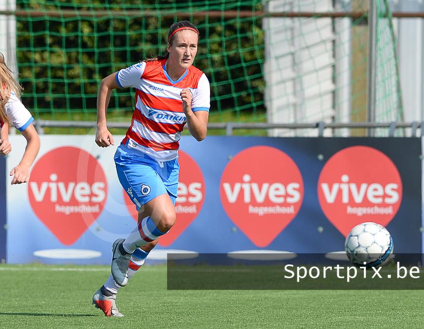 Famkes Westhoek Merkem Diksmuide - Club Brugge Dames A :  Ellen Martens <br /> Foto David Catry | VDB | Bart Vandenbroucke