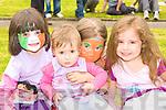 Lorna Looney, Aniela, Gabriela Palisinske and Aine Tangney enjoying the Muckross Community open day on Sunday