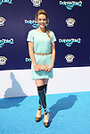 WESTWOOD, CA- SEPTEMBER 07: Actress/snowboarder Amy Purdy arrives at the Los Angeles premiere of 'Dolphin Tale 2' at Regency Village Theatre on September 7, 2014 in Westwood, California.