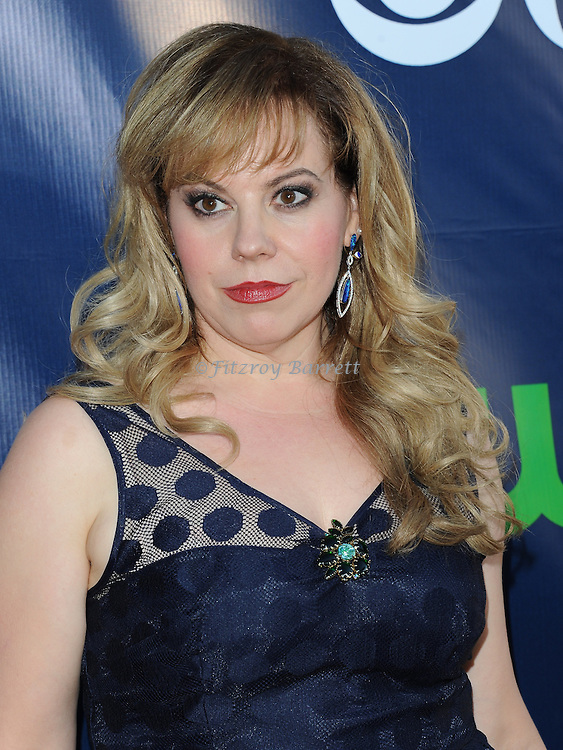 Kirsten Vangsness arriving at the CBS And CW TCA Summer Party 2014 held at The Pacific Design Center Los Angeles, CA. July 17, 2014.