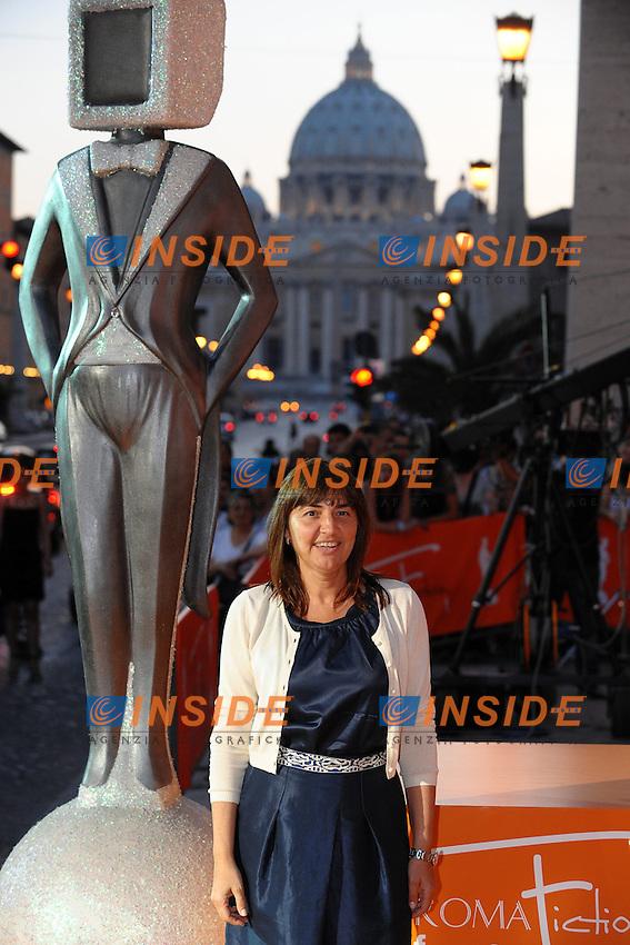 Renata POLVERINI.Roma 9/7/2010 Roma Fiction Fest.Foto Andrea Staccioli Insidefoto