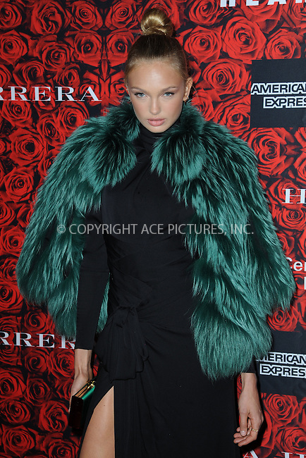 www.acepixs.com<br /> <br /> December 6 2016, New York City<br /> <br /> Model Romee Strijd arriving at An Evening Honoring Carolina Herrera at Alice Tully Hall at the Lincoln Center on December 6, 2016 in New York City.<br /> <br /> By Line: Kristin Callahan/ACE Pictures<br /> <br /> <br /> ACE Pictures Inc<br /> Tel: 6467670430<br /> Email: info@acepixs.com<br /> www.acepixs.com