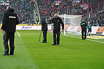 04.11.2018, Borussia Park , Moenchengladbach, GER, 1. FBL,  Borussia Moenchengladbach vs. Fortuna Duesseldorf,<br />  <br /> DFL regulations prohibit any use of photographs as image sequences and/or quasi-video<br /> <br /> im Bild / picture shows: <br /> Greenkeeping <br /> <br /> Foto &copy; nordphoto / Meuter