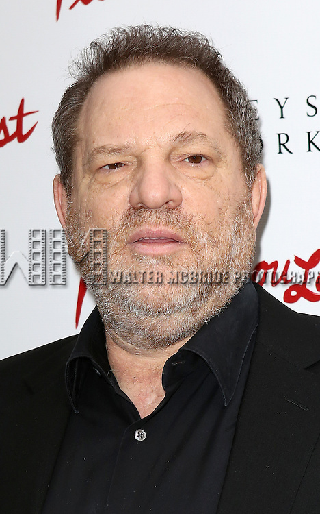 Harvey Weinstein  attending the Broadway Opening Night Performance of 'I'll Eat You Last' at the Booth Theatre in New York City on 4/24/2013