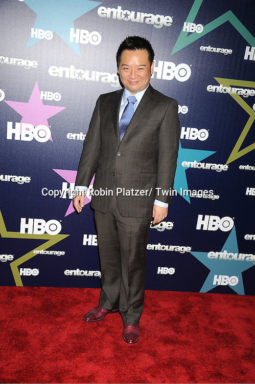 """Rex Lee attending The Eighth and Final Season Premiere of the HBO Show """"Entourage"""" on July 19, 2011 at The Beacon Theatre in New York City."""