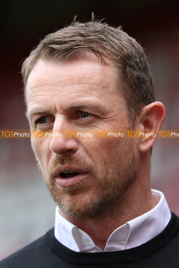 Derby County Manager, Gary Rowett during Brentford vs Derby County, Sky Bet EFL Championship Football at Griffin Park on 14th April 2017