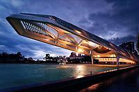 Museum of Tomorrow - Museu do Amanhã in Rio de Janeiro, Brazil