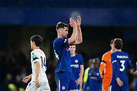 Chelsea's Gary Cahill applauds the fans at the final whistle <br /> <br /> Photographer Craig Mercer/CameraSport<br /> <br /> The Premier League - Chelsea v Crystal Palace - Saturday 10th March 2018 - Stamford Bridge - London<br /> <br /> World Copyright &copy; 2018 CameraSport. All rights reserved. 43 Linden Ave. Countesthorpe. Leicester. England. LE8 5PG - Tel: +44 (0) 116 277 4147 - admin@camerasport.com - www.camerasport.com