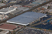 aerial photograph of the warehouse at 5800 Coliseum Way, Oakland, California