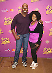 Alan H. Green and Trista Dollison attend the ''Charlie and the Chocolate Factory' Cast Photo Call at the New 42nd Street Studios on February 21, 2017 in New York City.