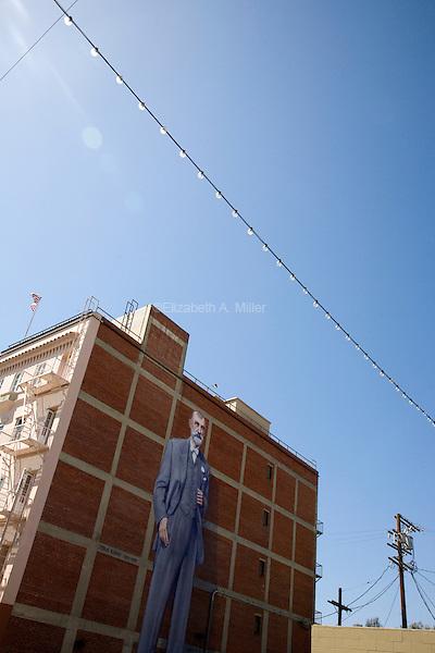 Abbot Kinney mural in Venice, California.