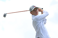 Keaton Morrison (Greenacres) on the 10th tee during the Final round in the Connacht U16 Boys Open 2018 at the Gort Golf Club, Gort, Galway, Ireland on Wednesday 8th August 2018.<br /> Picture: Thos Caffrey / Golffile<br /> <br /> All photo usage must carry mandatory copyright credit (&copy; Golffile | Thos Caffrey)
