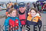Caoimhe Ni? Loingsigh, Niall O'Loingsigh and Katie Crowe pictured at the St. Brendan the Navigator Feast Day Family dat at Fenit Pier on sunday.