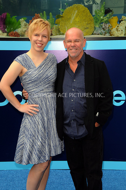 WWW.ACEPIXS.COM . . . . .  ....September 17 2011, LA....Director Charles Martin Smith (R) and his daughter arriving at the Premiere of 'Dolphin Tale' at The Village Theatre on September 17, 2011 in Westwood, California. ....Please byline: PETER WEST - ACE PICTURES.... *** ***..Ace Pictures, Inc:  ..Philip Vaughan (212) 243-8787 or (646) 679 0430..e-mail: info@acepixs.com..web: http://www.acepixs.com