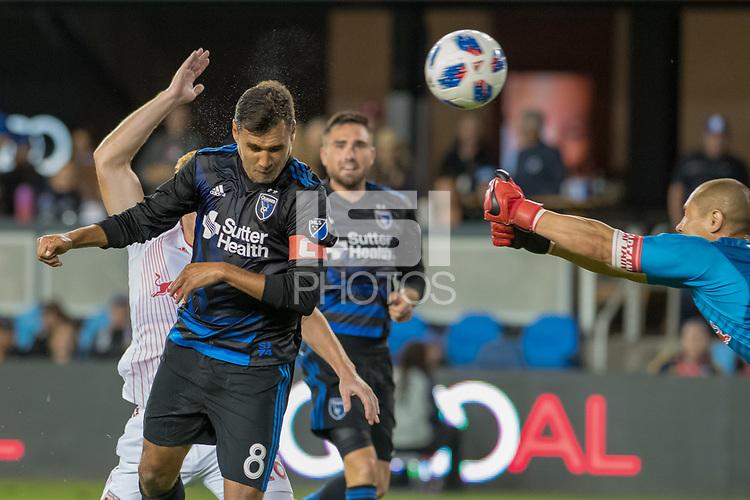 San Jose, CA - Thursday January 21, 2016: Chris Wondolowski during a Major League Soccer (MLS) match between the San Jose Earthquakes and the New York Red Bulls at Avaya Stadium.