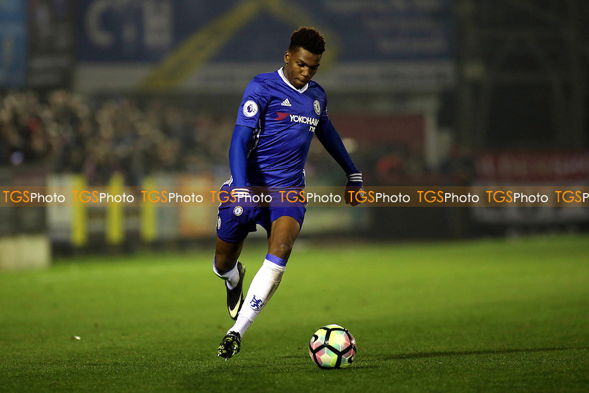 Dujon Sterling of Chelsea in action during Chelsea Under-23 vs Manchester United Under-23, Premier League 2 Football at the EBB Stadium on 9th December 2016