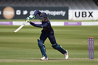 Keaton Jennings of Lancashire CCC drives straight during Middlesex vs Lancashire, Royal London One-Day Cup Cricket at Lord's Cricket Ground on 10th May 2019