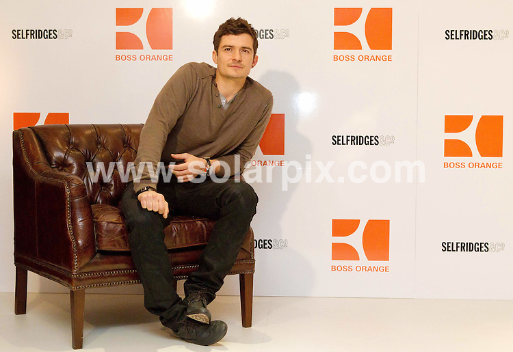 **ALL ROUND PICTURES FROM SOLARPIX.COM**                                             **NO UK NEWSPAPER PUBLICATION**.**UK MAGAZINE & SUPPLEMENT PUBLICATION ONLY** AND NO PUBLICATION IN AUSTRALIA, BELGIUM, FRANCE, GERMANY, ITALY, SCANDINAVIA AND USA**                                                                                  Hollywood heart throb Orlando Bloom appeared at Selfridges department store in London to celebrate the launch of the new fragrance from BOSS.                                                                   This pic:      Orlando Bloom                                                                                        JOB REF:     12984   SFE       DATE:     17.03.11                                                       **MUST CREDIT SOLARPIX.COM OR DOUBLE FEE WILL BE CHARGED**                                                                      **MUST AGREE FEE BEFORE ONLINE USAGE**                               **CALL US ON: +34 952 811 768 or LOW RATE FROM UK 0844 617 7637**