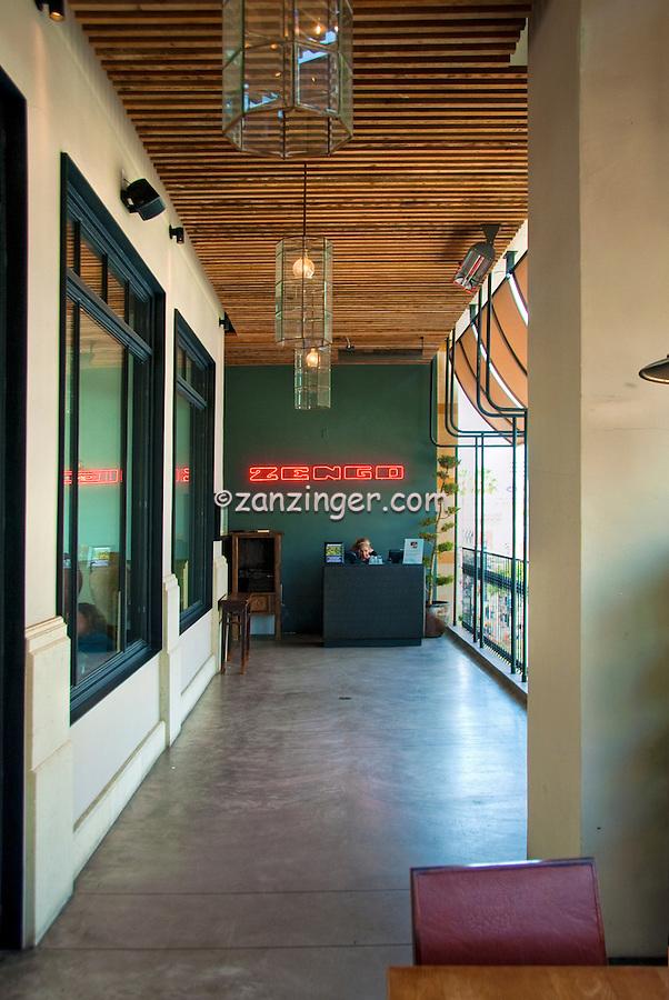 Zengo, Fine Dining,  Restaurant, Santa Monica Place, Santa Monica, CA;