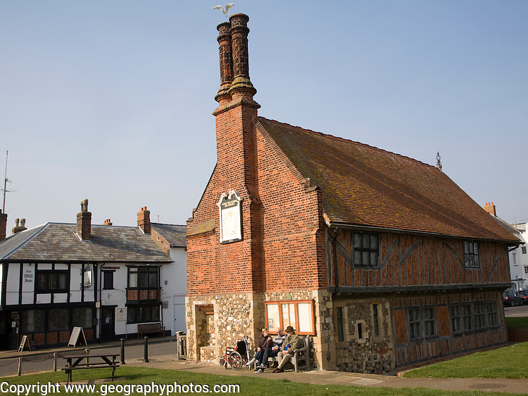 The Moot Hall, Aldeburgh, Suffolk, England