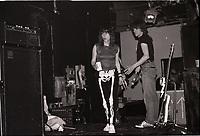 WHEELING , ILLINOIS - JANUARY 6,1984: Girlschool performing at Haymakers in Wheeling , Illinois on January 6, 1984. <br /> CAP/MPI/GA<br /> &copy;GA/MPI/Capital Pictures