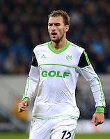 FUSSBALL  1. BUNDESLIGA  SAISON 2012/2013  14. SPIELTAG     TSG 1899 Hoffenheim - VfL Wolfsburg       18.11.2012 Bas Dost (VfL Wolfsburg)