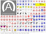 Driving in Europe.  Sign Language.<br />