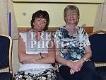 Helen Segrave and Kathleen Murtagh at the Ceilí in Teach Scoraiocht Dunleer. Photo:Colin Bell/pressphotos.ie
