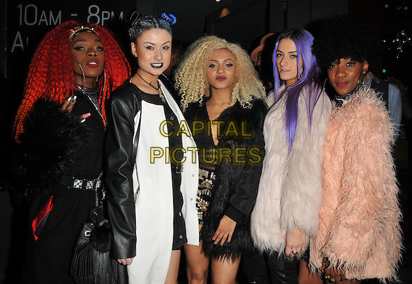 Alien Uncovered attend the Notion magazine issue 71 launch party, Lights of Soho, Brewer Street, London, UK, on Friday 18 December 2015.<br /> CAP/CAN<br /> &copy;Can Nguyen/Capital Pictures