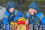 BRAVE: Kathleen and.Donna McCarthy who.braved the elements to.watch the Caherciveen.Regatta last Saturday.