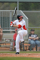 Illinois State Redbirds Joe Kelch (3) during a game against the Bucknell Bison on March 8, 2015 at North Charlotte Regional Park in Port Charlotte, Florida.  Bucknell defeated Illinois State 13-8.  (Mike Janes Photography)
