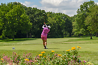 Shanshan Feng (CHN) watches her tee shot on 11 during round 1 of the 2018 KPMG Women's PGA Championship, Kemper Lakes Golf Club, at Kildeer, Illinois, USA. 6/28/2018.<br /> Picture: Golffile | Ken Murray<br /> <br /> All photo usage must carry mandatory copyright credit (&copy; Golffile | Ken Murray)