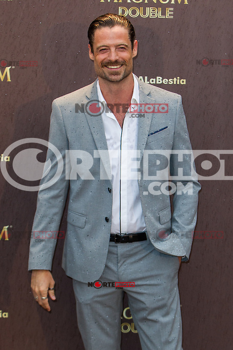 William Miller during the launch party for the new range of Magnum ice cream at  ME Hotel Reina Victoria. Jun 15,2016. (ALTERPHOTOS/Rodrigo Jimenez) /NortePhoto.com