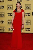 January 15, 2010:  Paula Patton arrives at the 15th Annual Critics' Choice Movie Awards held at the Palladium in Los Angeles, California. .Photo by Nina Prommer/Milestone Photo