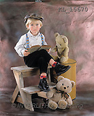 Interlitho, Alberto, CHILDREN, photos, boy, teddies, book(KL15670,#K#) Kinder, niños
