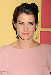 BEVERLY HILLS, CA - JUNE 12: Cobie Smulders arrives at the 2012 Women In Film Crystal + Lucy Awards at The Beverly Hilton Hotel on June 12, 2012 in Beverly Hills, California.