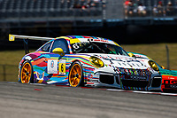 Porsche GT3 Cup Challenge USA<br /> Advance Auto Parts SportsCar Showdown<br /> Circuit of The Americas, Austin, TX USA<br /> Saturday 6 May 2017<br /> 6, David Ducote, GT3G, USA, 2016 Porsche 991<br /> World Copyright: Jake Galstad<br /> LAT Images