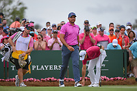 Jason Day (AUS) heads down 1 during round 4 of The Players Championship, TPC Sawgrass, at Ponte Vedra, Florida, USA. 5/13/2018.<br /> Picture: Golffile | Ken Murray<br /> <br /> <br /> All photo usage must carry mandatory copyright credit (&copy; Golffile | Ken Murray)