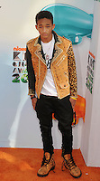 LOS ANGELES, CA - MARCH 31: Jaden Smith arrive at the 2012 Nickelodeon Kids' Choice Awards at Galen Center on March 31, 2012 in Los Angeles, California.