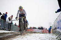 Nikki Harris (GBR/Telenet-Fidea)<br /> <br /> Elite Women's Race<br /> <br /> 2015 UCI World Championships Cyclocross <br /> Tabor, Czech Republic