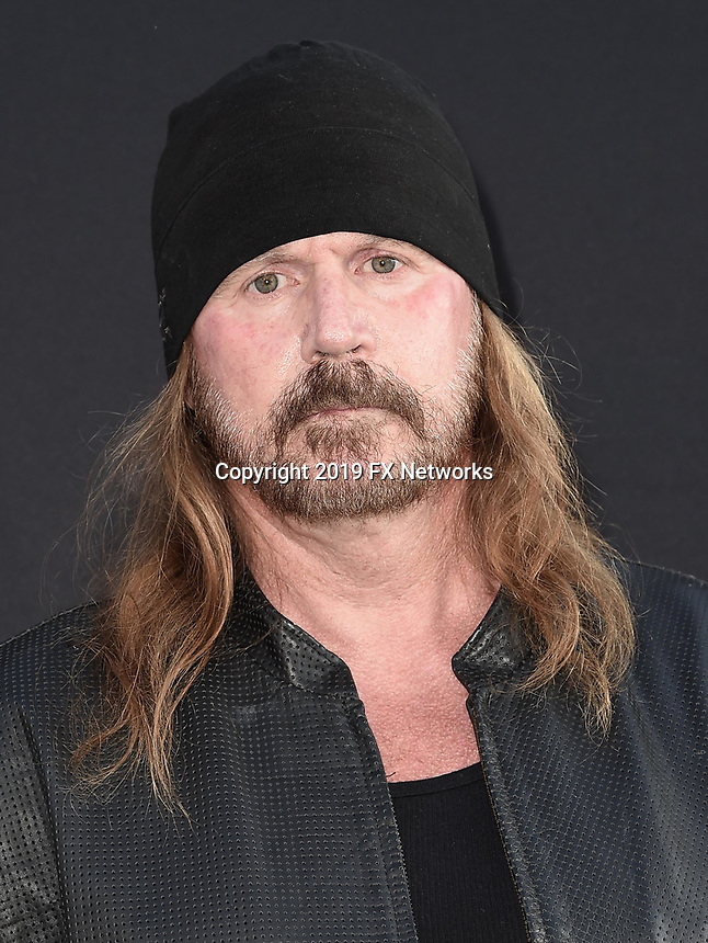"LOS ANGELES - AUGUST 27: Rusty Coones attends the season two red carpet premiere of FX's ""Mayans M.C"" at the ArcLight Dome on August 27, 2019 in Los Angeles, California. (Photo by Scott Kirkland/FX/PictureGroup)"