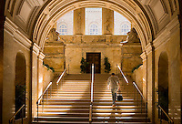 Boston Public Library staircase, Boston, MA (architect = McKim, Meade & White)